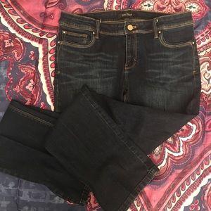 White House black 💕market boot cut jeans ❤️